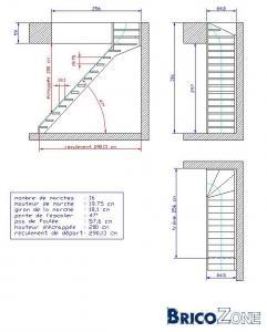 calcul escalier et marche. Black Bedroom Furniture Sets. Home Design Ideas