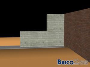 Ancrage d'un Mur