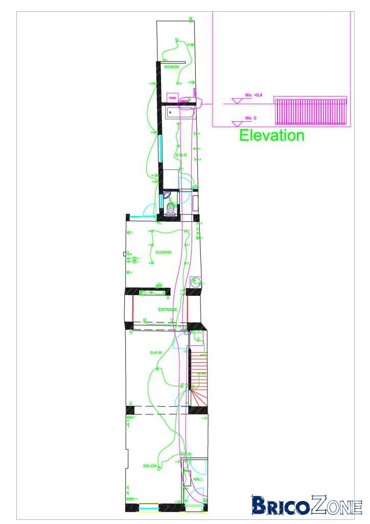 piquet de terre dans salle de bain et salle manger. Black Bedroom Furniture Sets. Home Design Ideas