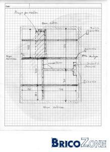section des madriers pour un plancher