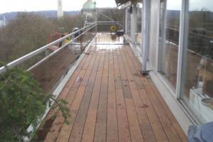 voudrais isoler b�ton une toiture plate pour faire une terrasse