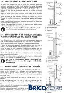 Poele � pellets : evacuation de la fum�e