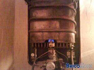 Probleme avec mon chauffe eau au gaz