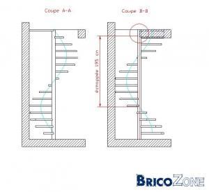 quel escalier choisir..voir plan de ma maison