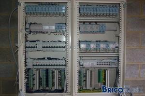 Exemple tableau domotique bTicino