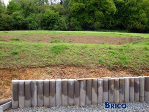 Mur de soutenement - Comment retenir la terre sur un terrain en pente ...