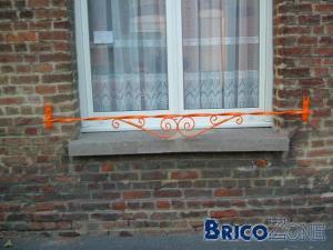 garde-fou balcon fenêtre