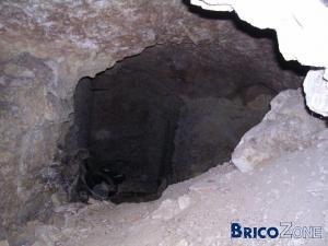 Cave effondrée, comment réparer ?