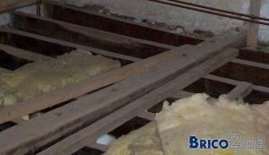 realisation d'un plancher d'etage