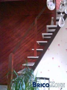 escalier et blocs Ytong