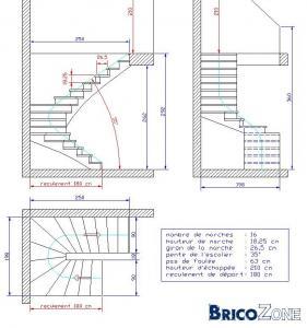 mesure escalier demi tournant. Black Bedroom Furniture Sets. Home Design Ideas
