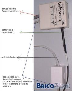 B-Box 2 de Belgacom - prise 5 p�les ou pas ?