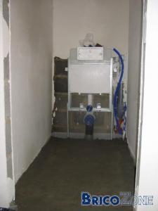 wc suspendu, la cuvette bouge!