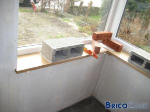 Tablettes de fenêtre en bois - PHOTOS