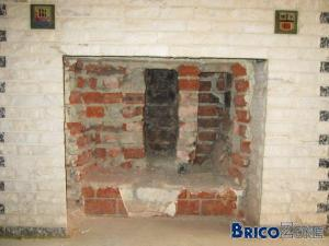 Puis-je encore casser les briques de la chemin�e pour y placer 1 insert ?