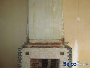 Puis-je encore casser les briques de la cheminée pour y placer 1 insert ?
