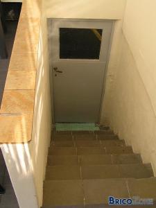 Combler passage de veranda vers garage
