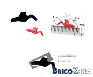 recherche joints spécifiques pour chassis alu