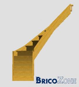 réalisation de mon escalier 1/4tournant