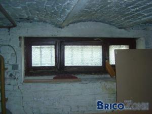 Supprimer une fen tre et placer des briques de verre - Fenetre brique de verre ...