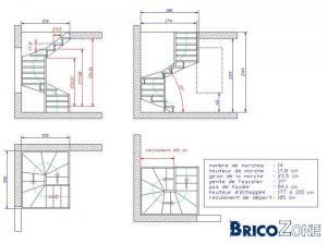 calcul d 39 un escalier page 2. Black Bedroom Furniture Sets. Home Design Ideas