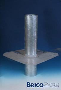Sortie d'extracteur en toiture