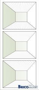 orientation lambris plafond