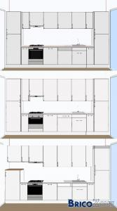 Avis cuisine hauteur armoires !