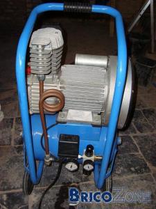 Compresseur Welco 400/20 3HP