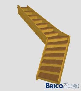 Calcul d'un escalier tournant