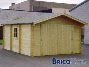 Faut il un permis d'urbanisme pour un garage en bois?