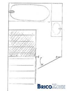Utiliser l'espace perdu au dessus d'un escalier
