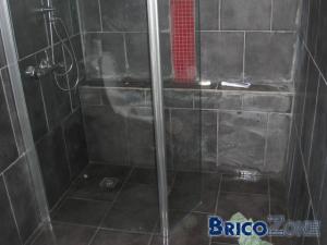 Catastrophe dans ma douche italienne