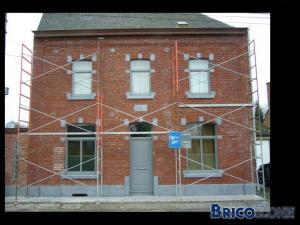 Notre façade restaurée ...
