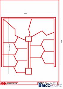 e 39 scalier pas d cal s demi tournant. Black Bedroom Furniture Sets. Home Design Ideas