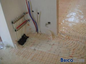 Réglage débitmètres chauffage sol
