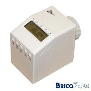 Vanne thermostatique programable + TA