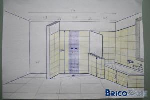 Reportage photos douche italienne for Construction douche italienne