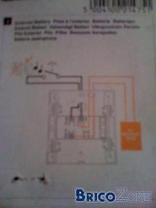 branchement d 39 un carillon en 220v. Black Bedroom Furniture Sets. Home Design Ideas