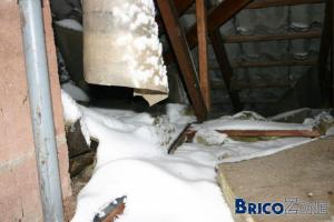 Dans mon grenier... il neige...