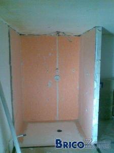 Douche italienne cherche conseils pour jointage - Comment faire une douche a l italienne ...