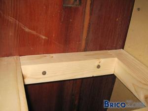 Créer étagère laquée type Ikea Lack