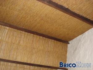 Isolation du toit par l'int�rieur...