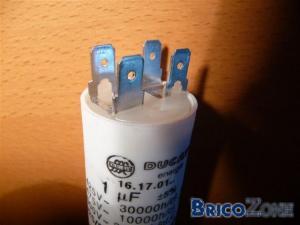 Branchement ancien t l phone vers ancienne sonnerie for Comment verifier un condensateur