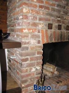 Placer insert bois dans un feu ouvert existant