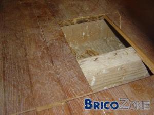 plancher SDB sur poutres