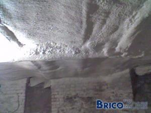 isoler le plafond des caves ?????