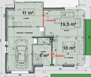 chape joint de dilatation. Black Bedroom Furniture Sets. Home Design Ideas