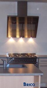 Plaque inox pour cuisine - Plaque inox brosse pour cuisine ...