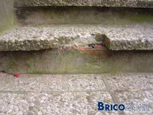 Refaire un escalier extérieur